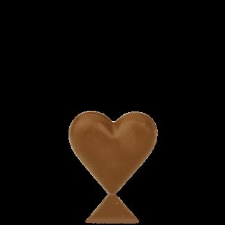 Серце мале з молочного шоколаду