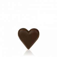 Small Heart, dark chocolate