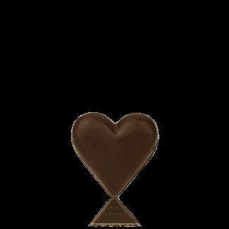 Small Heart, dark chocolate