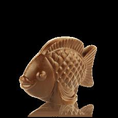 Рибка з чорного шоколаду