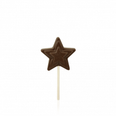 Star Lollipop, dark chocolate