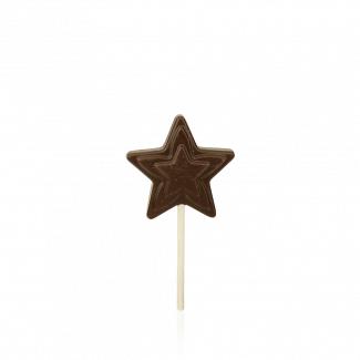 Star Lollipop, dark chocolate