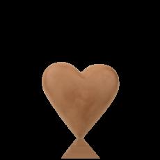 Сердечко з молочного шоколаду