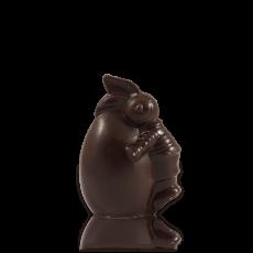 Шоколадне яєчко з чорного шоколаду