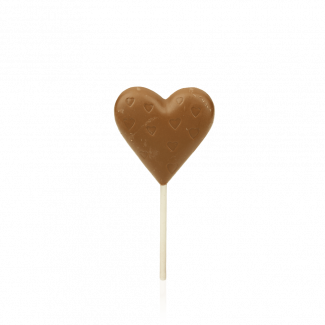 Heart Lollipop, milk chocolate