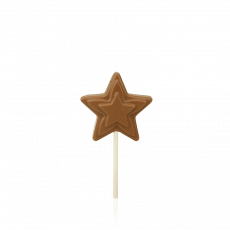Star Lollipop, milk chocolate