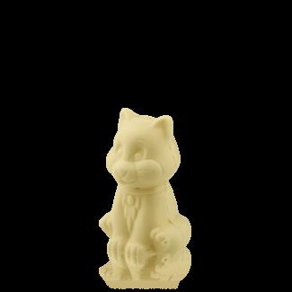 Котик з білого шоколаду