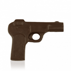 Pistol, dark chocolate
