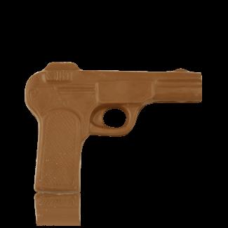 Пістолет з молочного шоколаду