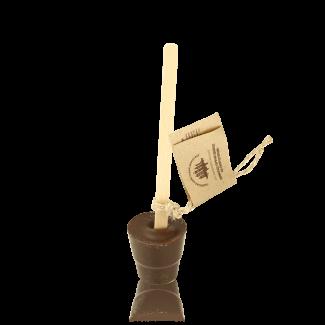 Hot Chocolate Lollipop, dark chocolate