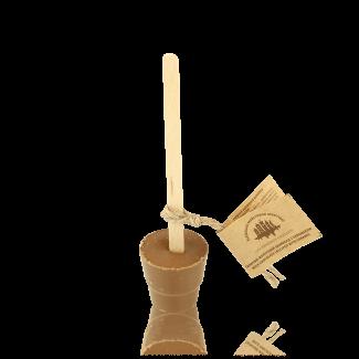 Гарячий шоколад на паличці, молочний з карамеллю