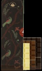 Set of chocolate bars