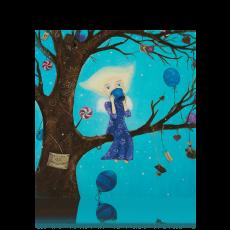 """Листівка """"Фея на дереві"""""""