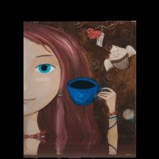 """Листівка """"Кава для натхнення"""""""