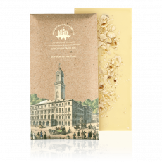 White chocolate with hazelnut, 80 g