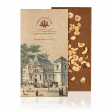 Milk chocolate with hazelnut, 80 g