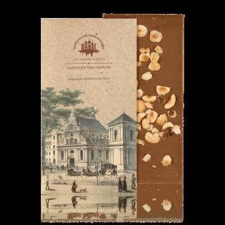 Milk chocolate with hazelnut, 80 g