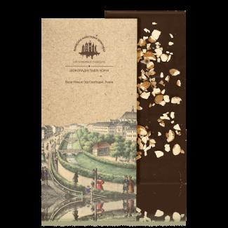 Чорний шоколад з мигдалем, 80 г